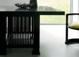 Chaise Barrel et table Allen - Cassina