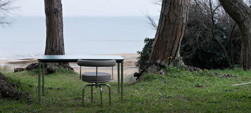 LC10-P outdoor + LC7 outdoor - Cassina