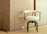 Petit fauteuil LC7 - Structure verte - Cassina
