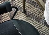 Petit fauteuil LC7 - structure noire - Cassina