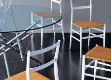 Table 714 et Chaises 699 - Cassina