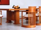 Table Allen et chaises Barrel - Cassina