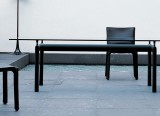 Table LC6 - base noire - cassina