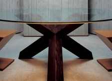 Table Rotonda - Chaises ZigZag - Cassina