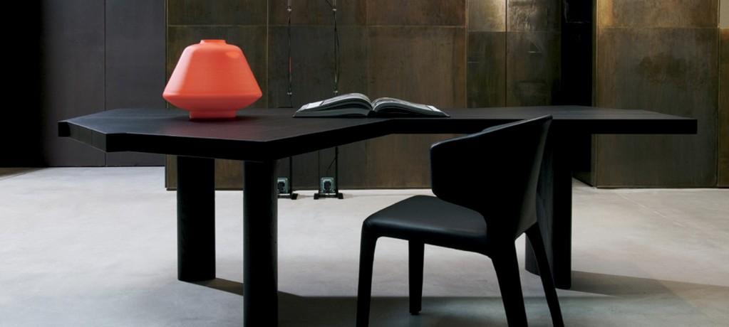 Table Ventaglio - chaise Hola - Cassina