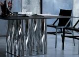 Table carrée Boboli et fauteuil Pilotta - Cassina