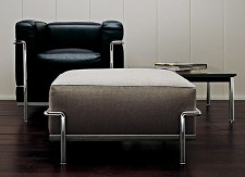 Fauteuil et pouf LC2 - Cassina - LVC Design