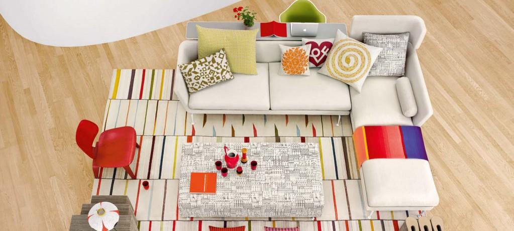 Suita Sofa - angle - Vitra - LVC Design