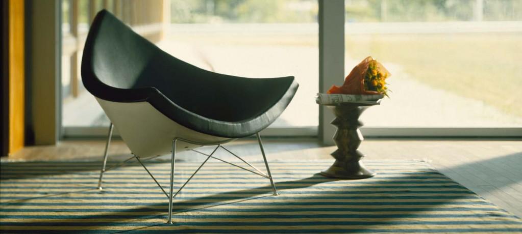 fauteuil Coconut et Stools - Vitra