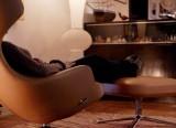fauteuil Grand repos et ottoman - Vitra