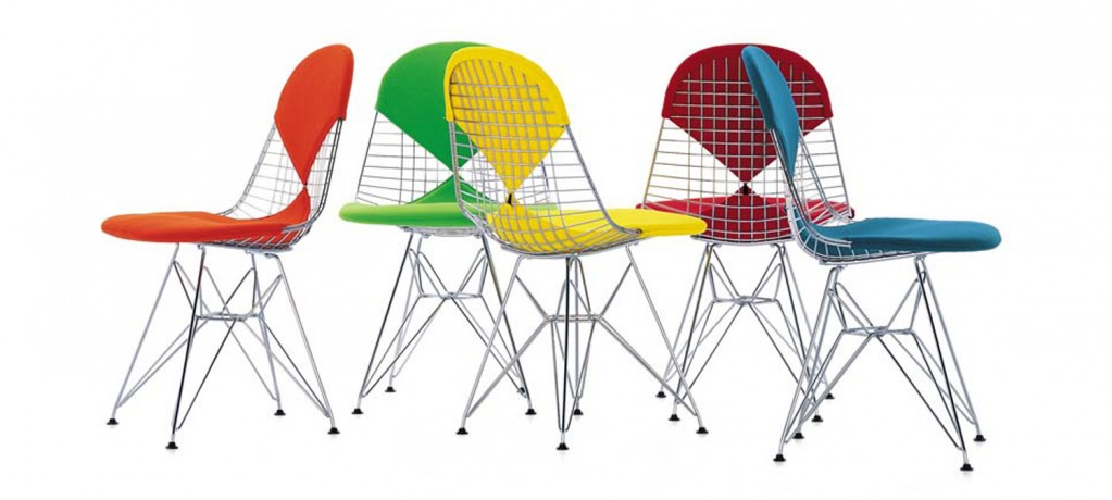 WIRE CHAIR - C&R Eames - 1951 - Vitra (2)