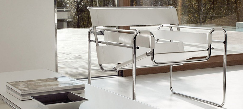 Wassily lounge chair - Marcle Breuer - 1925 - Knoll - LVC Design