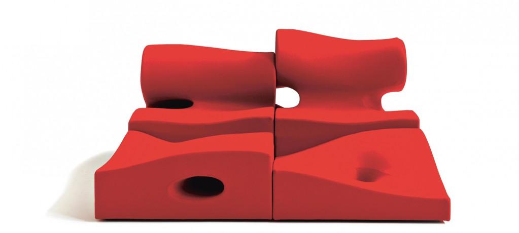 Canapé Misfits - Ron Arad - 2007 - Moroso - LVC Design