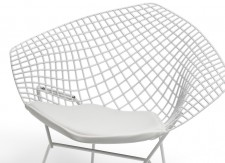Fauteuil Diamant - Harry Bertoia - 1952 - Knoll - LVC Design