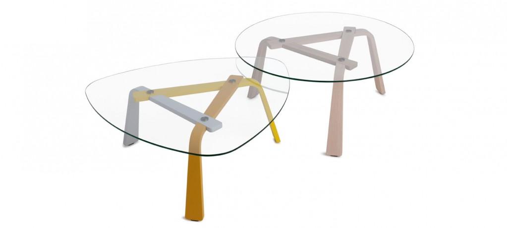Table basse ISIS - Arjan Moors - 2014 - LVC Design - Leolux
