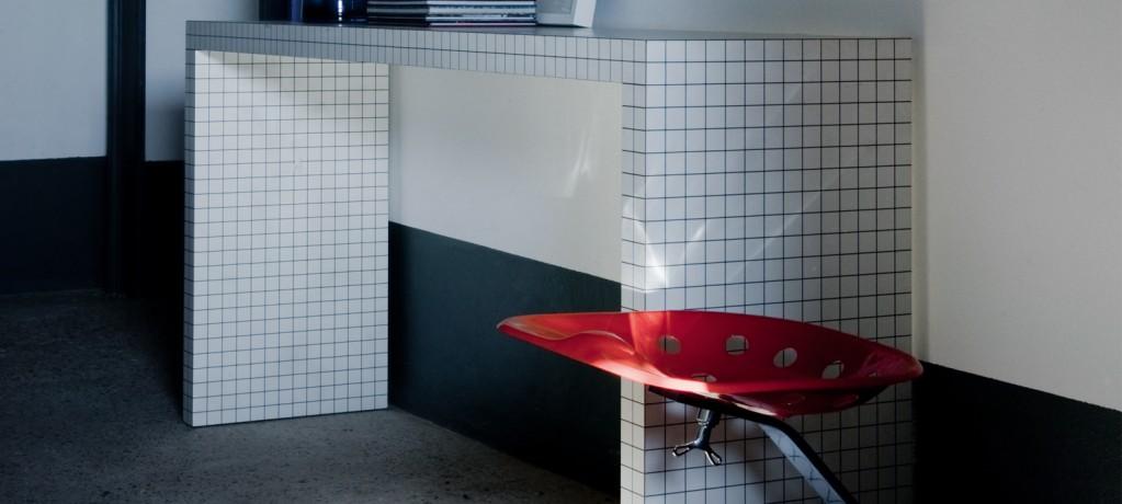 Console Quaderna - Superstudio - 1970 - Zanotta - LVC Design