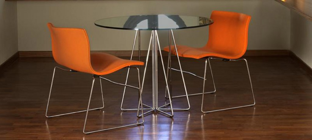 PaperClip Table - Vignelli Design - 1993 - Knoll - LVC Design