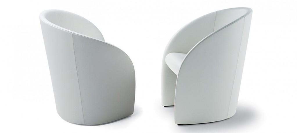 Intervista - Lella & Massimo Vignelli - 1989 - Poltrona Frau - LVC Design