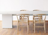 Table Isaac - Table en bois design Philippe Allayes - Table a rallonges - E15 - 2002 - LVC Design