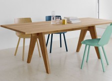Table Alden - Table en bois massif - Table design Ferdinand Kramer - 1942/2012 - E15 - LVC Design