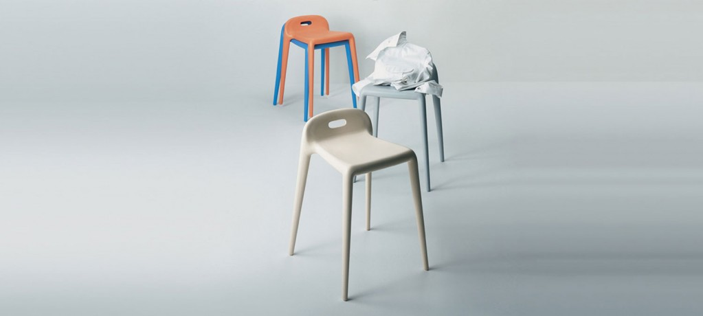 Tabouret Yuyu - Yuyu design Stefano Giovannoni - Magis - 2000 - LVC Design