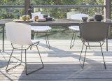 Chaise Bertoia - Bertoia plastic side Chair - harry Bertoia - 1956/2016 - Knoll - LVC Design