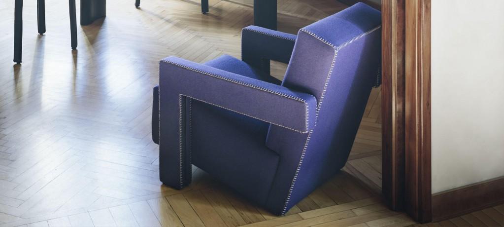 Fauteuil Utrecht - Rietveld 1988 - Cassina - LVC Design
