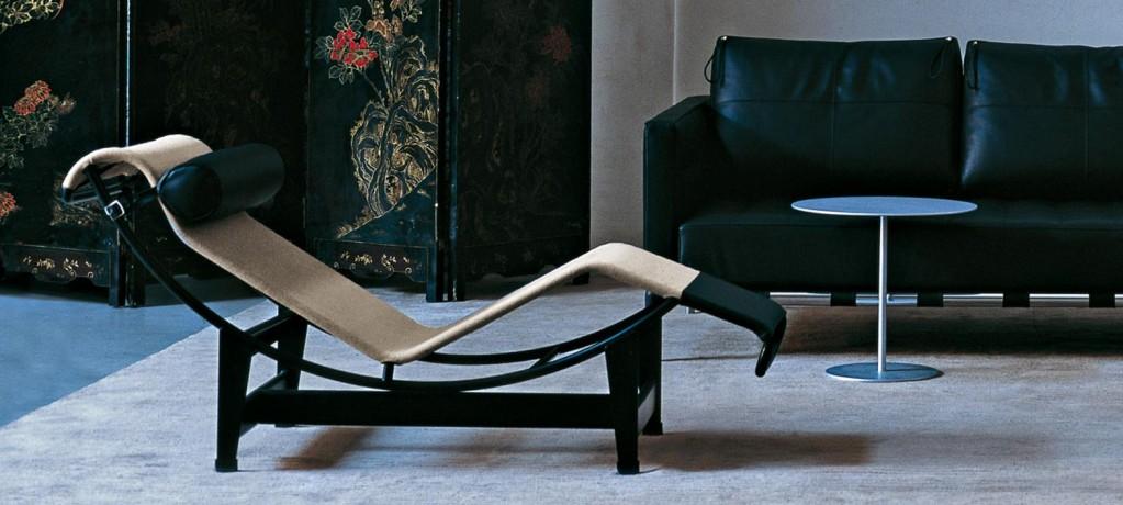 Chaise Longue LC4 - Tissu Autoportant et canapé Privé - Cassina