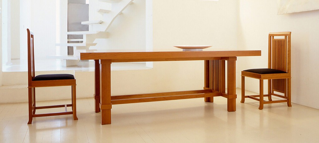Table TALIESIN 2 et Chaise Coonley 2 - Cassina