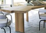 Table Ventaglio et fauteuil LC7 - Cassina