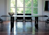 Table rectangulaire Boboli et fauteuils Pilotta - Cassina