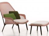 Slow Chair et Ottoman - Vitra