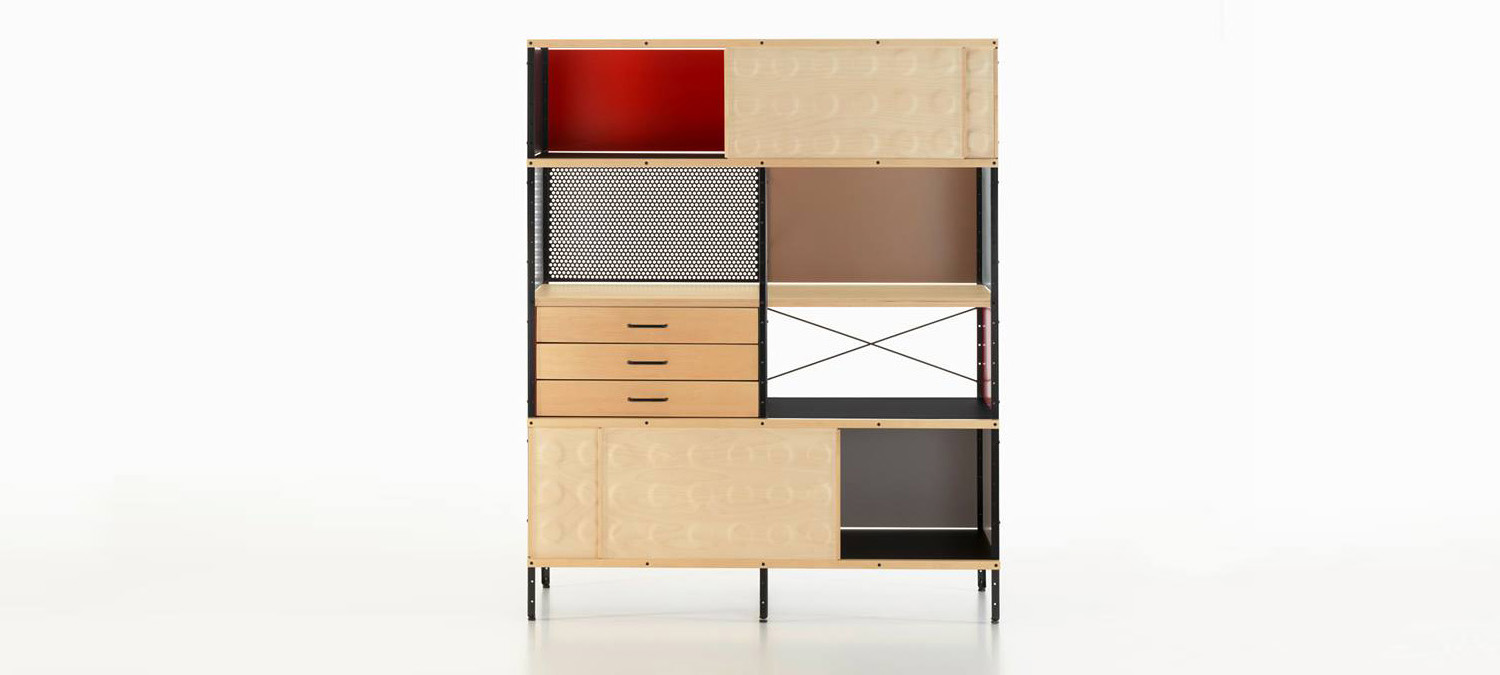 eames storage unit esu lvc designlvc design. Black Bedroom Furniture Sets. Home Design Ideas