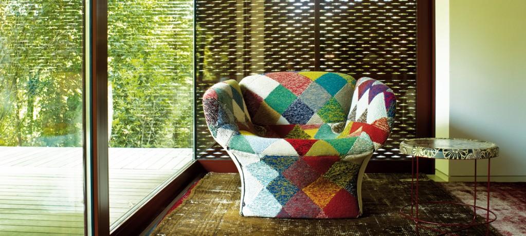 Fauteuil Bloomy - Patricia Urquiola - 2004 - Moroso - LVC Design