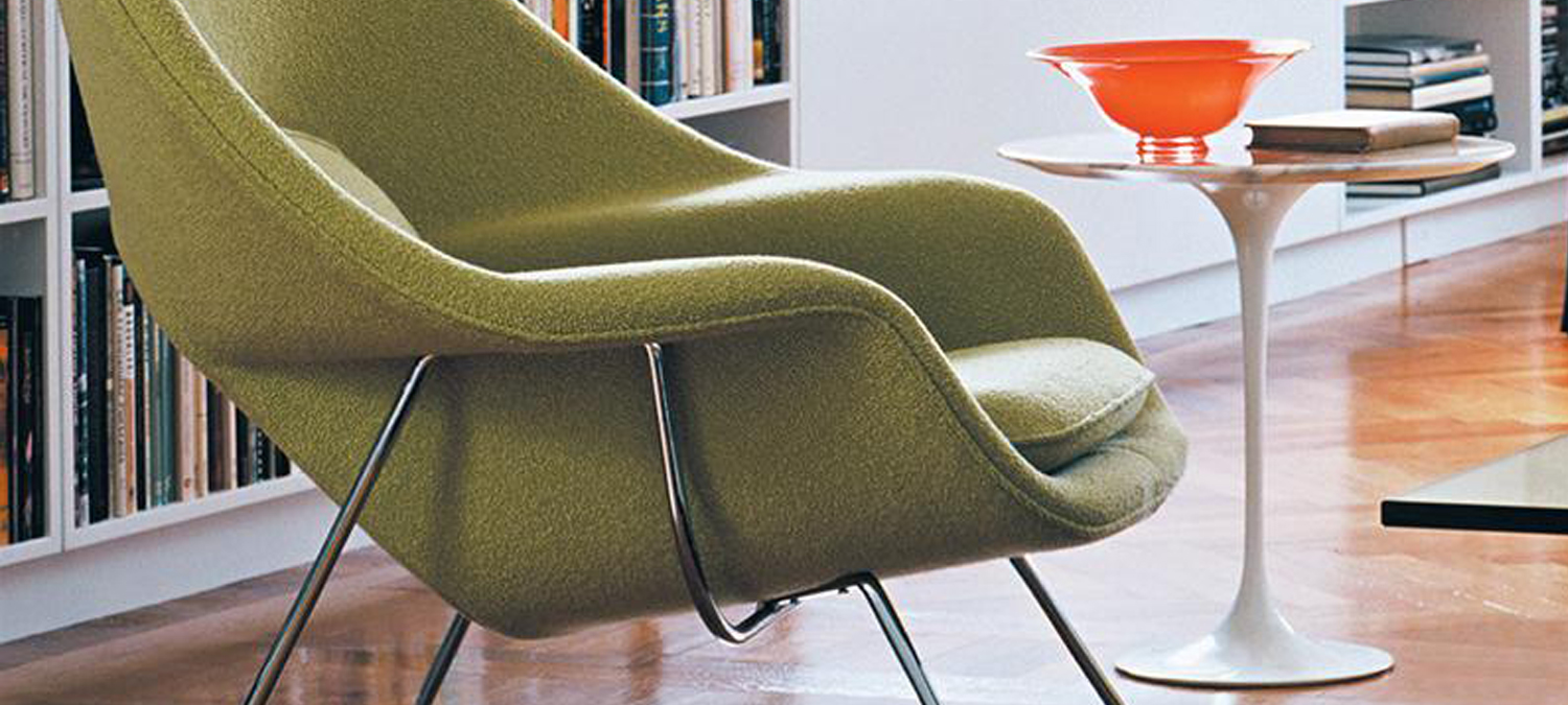 womb chair eero saarinen knoll lvc design
