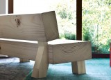 Soft Wood Sofa - Front - 2010 - Moroso - LVC Design