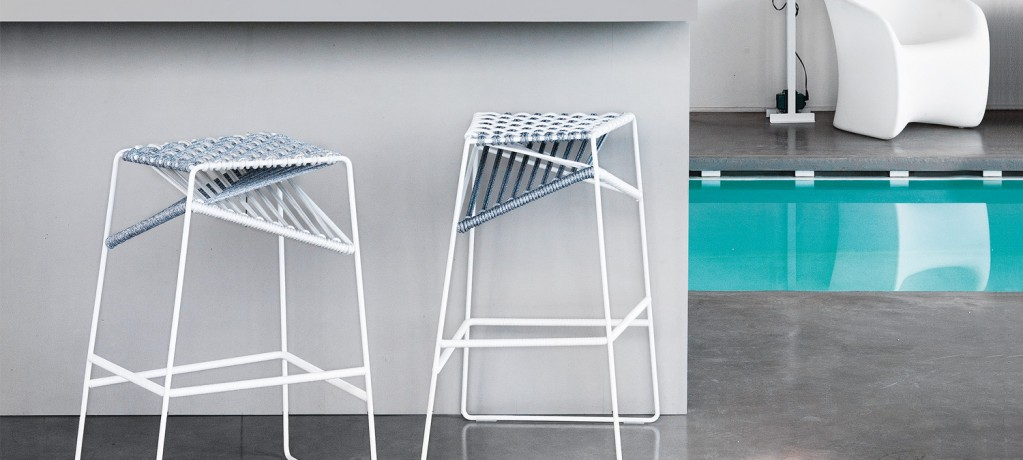 Tabouret Twist - Emilio Nanni - 2014 - Zanotta - LVC Design