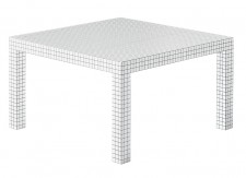 Table Quaderna - Superstudio - 1970 - Zanotta - LVC Design