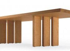H_T table - Claudio Silvestrin - 2006 - Poltrona Frau - LVC Design