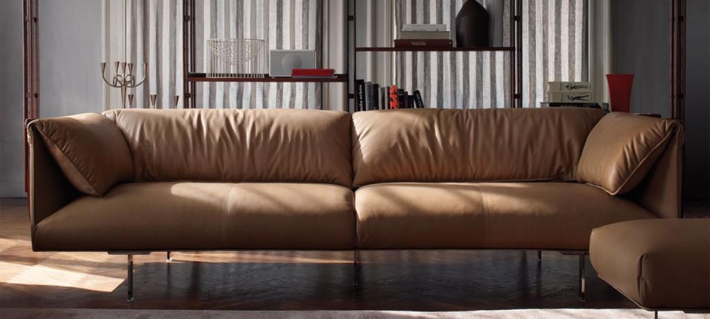 Canapé John-John - Jean Marie Massaud - 2011 - Poltrona Frau - LVC Design