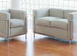canapé 2 places et fauteuil LC2 - Cassina