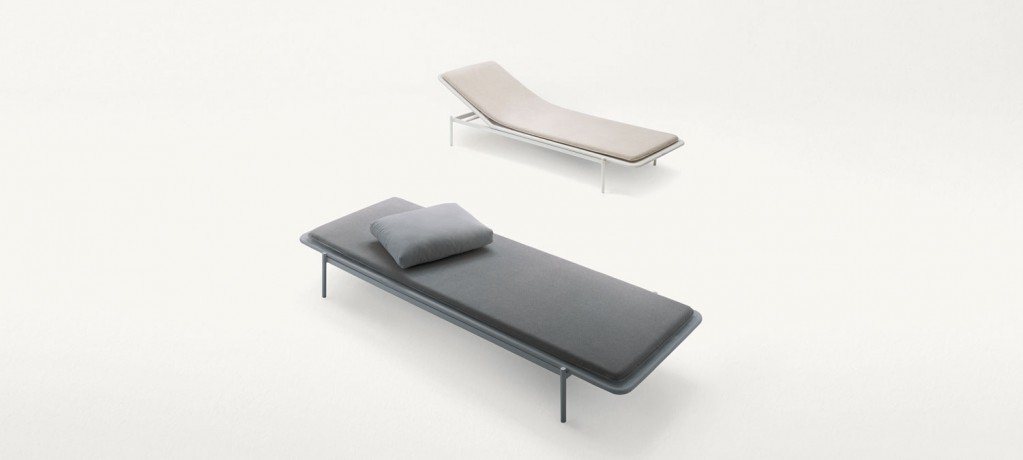 Chaise Longue Baia - Bain de soleil - Paola Lenti outdoor - Francesco Rota - LVC Design