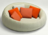 Canapé Ease - Pouf Ease outdoor - Francesco Rota - Paola Lenti - LVC Design