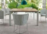 Table d'extérieur Sunset - Table outdoor design Francesco Rota - Paola Lenti - LVC Design