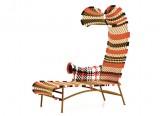 Chaise longue Shadowy - Bain de soleil Shadowy - M'Afrique - Siège outdoor design Tord Boontje - Moroso - LVC Design