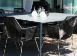 Projet d'aménagement Genève - Projet Outdoor - Chaises Tropicalia Moroso - Table outdoor Plano Paola Lenti - Projet d'aménagement Suisse - LVC Design