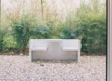 Tafel outdoor - Table+banc tafel - Tafel design Hans de Pelsmacker - 2000 - e15 - LVC Design