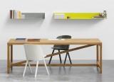 Table Platz - Table en bois massif - table en chêne design Jörg Schellmann - E15 - LVC Design