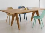 Table Alden - Table en bois massif - Table design Ferdinand Kramer - 1942/2012 - E15 - LVC Design