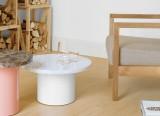 Table basse Enoki - Table basse en marbre - Enoki - Philipp Mainzer - 2011/2012 - E15 - LVC Design